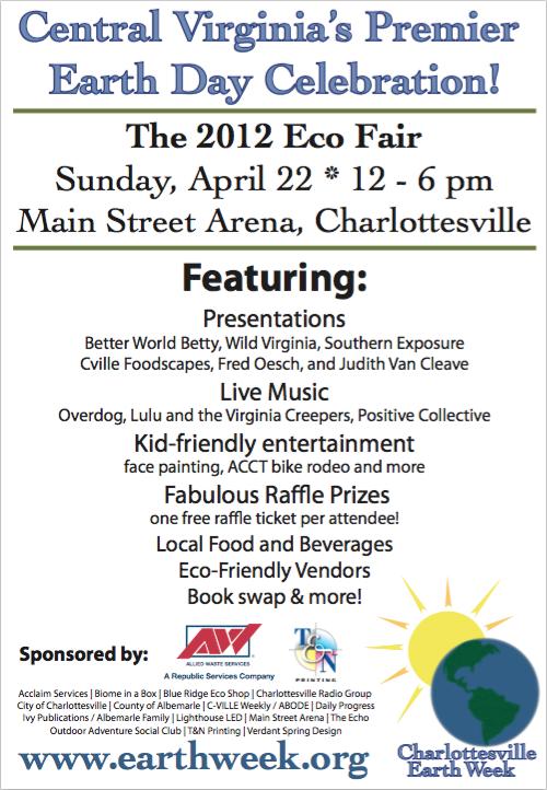 Earth Week Eco Fair 2012