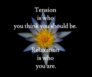 tension-relaxation